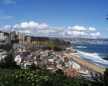 Panoramic view of Reñaca, Viña del Mar